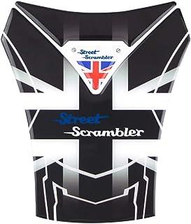 PRO-KODASKIN Motorcycle 3D Real Carbon Tank Pad Sticker Decal Emblem GRIPPER STOMP GRIPS EASY For Triumph Street Scrambler