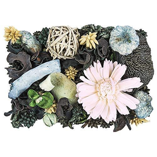 Edel-Potpourri | Deko-Set | 200 g | verschiedene duftende Blüten, Zweige, Deko-Elemente (Patchouli)