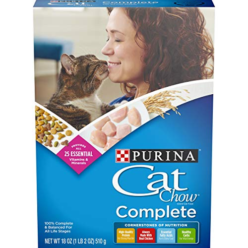 Price comparison product image Purina Cat Chow Complete Formula Dry Cat Food 18oz