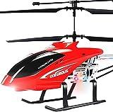 Moerc 3.5 Canal Anti-colisión Gyro RC Helicóptero Super Grande 2.4GHz Control Remoto Helicóptero LED Radio al Aire Libre Controlado Heli Principiante Adultos Adultos Volando Juguetes
