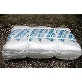 PPガラ袋 口紐付 半透明 200枚入 廃材ゴミ袋 土嚢袋