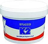 Stucco K2 in pasta riempitivo color bianco kg. 1 1030