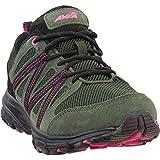 Avia Women's Avi-Vertex Running Shoe, Grape Leaf/Black/Pink, 11 Wide