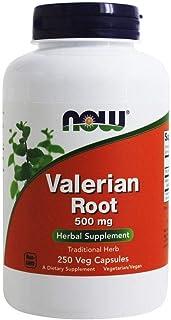 NOW Foods Valerian Root 500 mg, 250 Vegetable Capsule