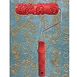 7 rulli di gomma texture decorativa rifornimenti e strumenti per la pittura a rullo-a19