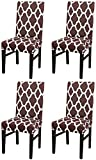 NURB Stretch Dining Chair Cover Spandex Dining Chair Covers Removable Washable Universal Protector