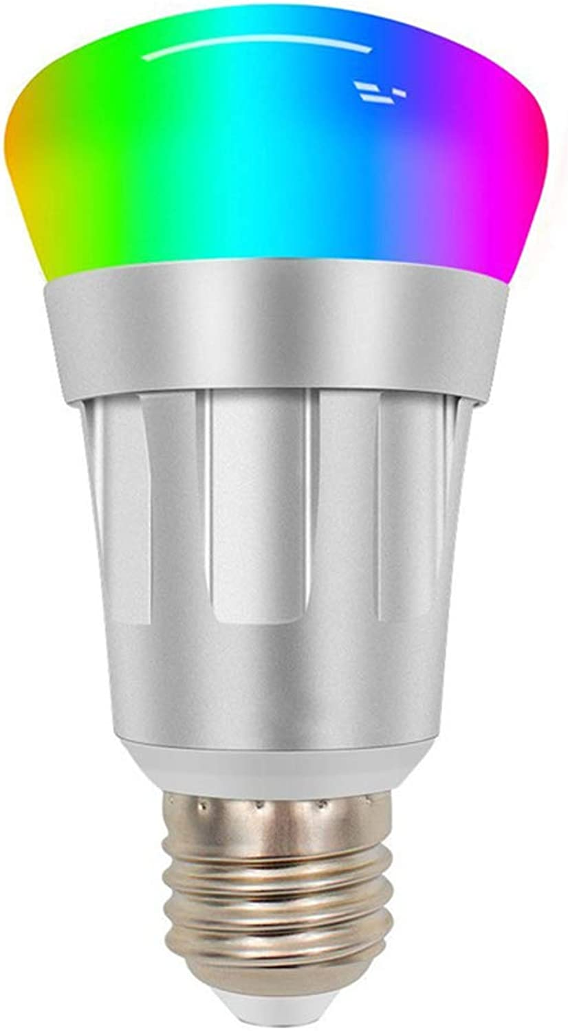 WiFi Smart Bulb, B22 Bayonet 11W Smart Led Bulb Compatible with Alexa, Google Home, Dimmable RGB Smart Light Bulb, No Hub Required, 60W Equivalent Remote Controlled by Smart Device