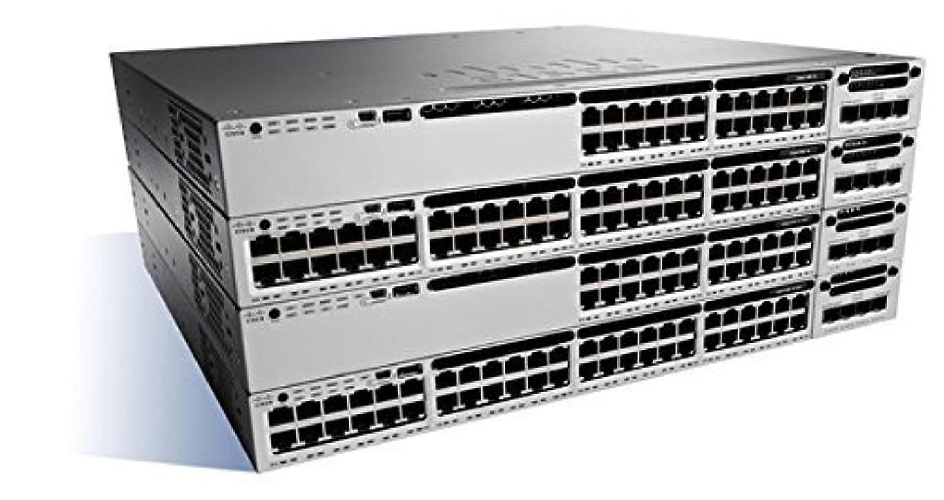 ラップラメブルCisco Catalyst 3850 24PT 10G Fiber Switch IP Base - WS-C3850-24XS-E [並行輸入品]