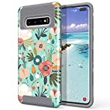 ULAK Galaxy S10 Plus Case, [Colorful Series] Hybrid Dual
