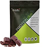 NUTRABOX Whey Protein Plus Post Workout Gym Supplement with No Added Sugar/Body Building