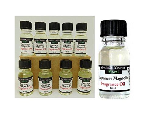 Lot de 10 Huile de parfum Fragrance Magnolia Senteur Ambiance 10 ml - 31