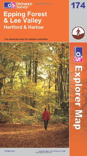 OS Explorer map 174 : Epping Forest & Lee Valley