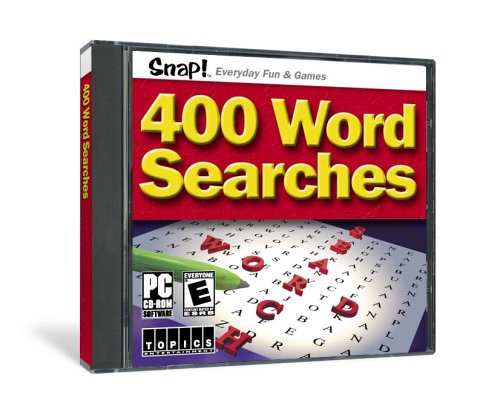 SNAP! 400 Word Searches (Jewel Case) (輸入版)