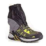 WINOMO Adjustable Outdoor Waterproof Ankle Walking Gaiters Hiking - 1 Pair