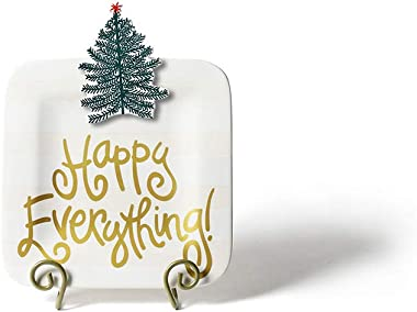 Happy Everything! Decorative Mini Platters (White)
