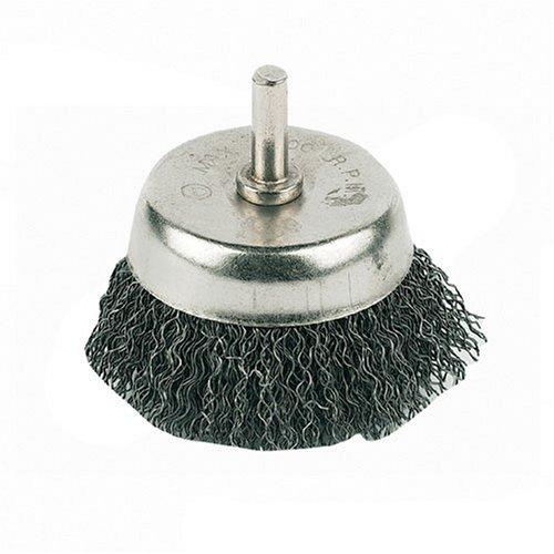Silverline PB04 Brosse boisseau à fils ondulés 75 mm
