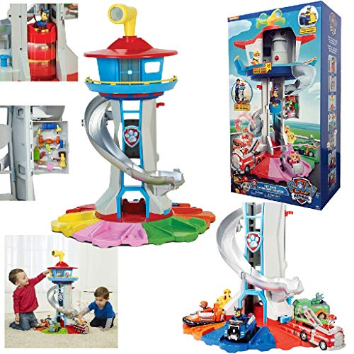 PAW PATROL My Size Lookout Tower with Exclusive...