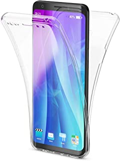 NALIA 360 Full Body Case Compatible with Samsung Galaxy S9, Front & Back Soft Phone Cover, Full Protection Thin Clear Silicone Shockproof Bumper, Slim Transparent Protective Skin, Color:Transparent
