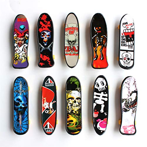 Kungfu Mall 1pcs Pack Finger Board Deck Truck Skateboard Boy Niño Juguete Niños Diapasones