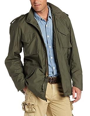 Alpha Industries Men's M-65 Field Coat,Olive Green,X-Large
