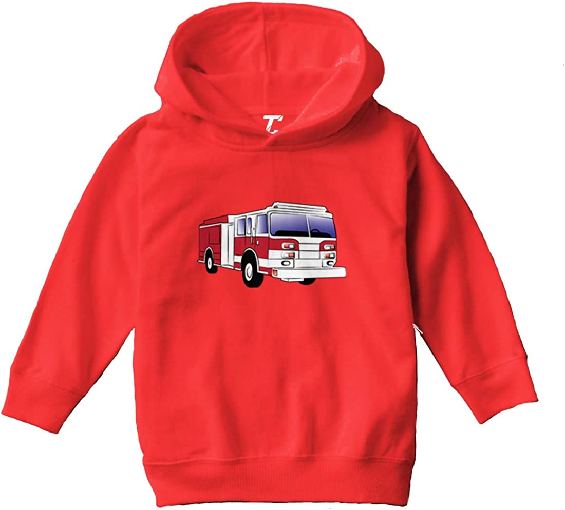 Tcombo Mail order Limited price Firetruck - Future Firefighter Hoodi Toddler Youth Fleece