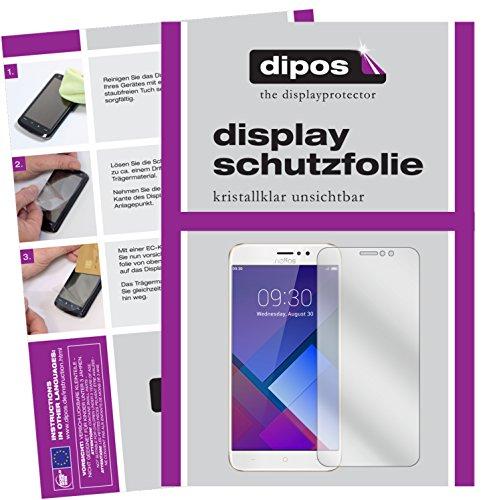 dipos I 2X Schutzfolie klar kompatibel mit TP-Link Neffos C7 Folie Bildschirmschutzfolie