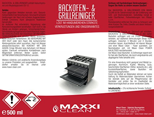 Maxxi Clean Backofenreiniger