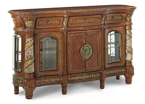 Michael Amini Villa Valencia Sideboard Cabinet, Classic Chestnut