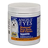 Best Eye Stain Remover For Dogs - Angel's Eyes 120 Count Natural Chicken Formula Soft Review