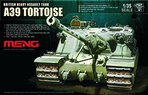 Meng Model 1 35 British Heavy Assault Tank A39 Tortoise   002 by Meng Models