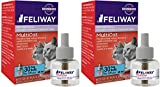 FELIWAY MultiCat Diffuser Refill (48 mL) | Constant Harmony & Calming Between Cats at Home (2 Pack 48ml)