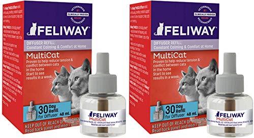FELIWAY MultiCat Diffuser Refill (48 mL)   Constant Harmony & Calming Between...