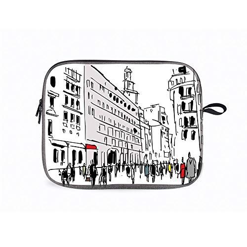 Urban Ink Street 14 Inch Laptop Messenger Bag Compatible with Fujitsu, Lenovo, HP, Samsung, Sony