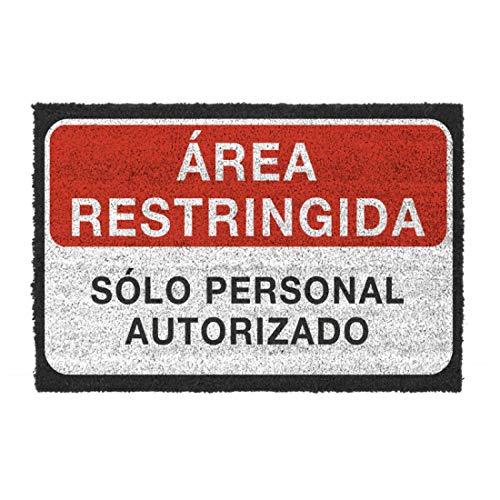 Home Gadgets Felpudo Antideslizante Area Restringida 40x70 cm