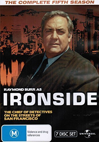 Ironside (Complete Season 5) - 7-DVD Box Set ( Ironside - Season Five (The Raymond Burr Show) ) [ NON-USA FORMAT, PAL, Reg.0 Import - Australia ]