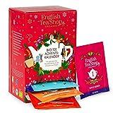 English Tea Shop - Tee Adventskalender rot, 24 verschiedene Premium BIO Tees - beliebte Klassiker...