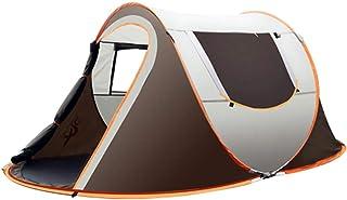 Roeam popup-tält, familjetält med stort utrymme för 4–8 personer, helautomatisk omedelbar utveckling regnsäker, ultralätt ...