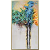 N / A Lucky Tree Lucky Colorful Canvas Painting Posters and Prints On The Wall Used To Decorate Pictures In The Living Room Frameless 30X55 cm