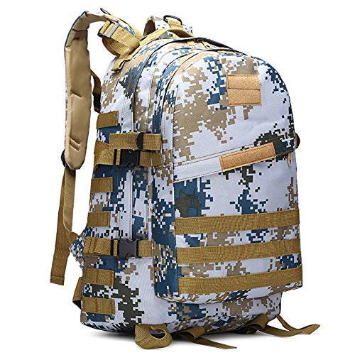 N-B Jedi Survival Eat Chicken Backpack Mountaineering Shoulder Camouflage Waterproof Tactical 3D Backpack