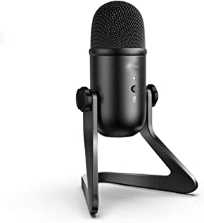 WZHZJ USB Microphone, Plug & Play Condenser Microphone for PC/Computer Podcasting One Line Meeting Self StudioRecording