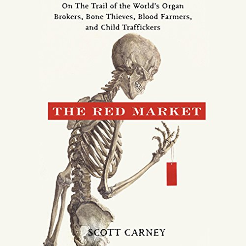 The Red Market audiobook cover art