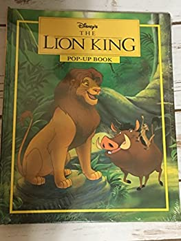 The Lion King Pop-Up Book 0786830050 Book Cover