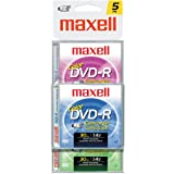 Color Write-Once DVD-R for DVD Camcorders