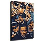 Rap Legends Notorious Big Snoop Dogg Ice Cube Eminem Tupac