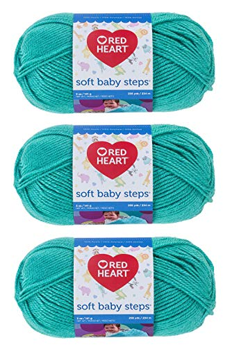 Red Heart E746–9530 Red Heart Soft Baby Steps Garn – Jadie