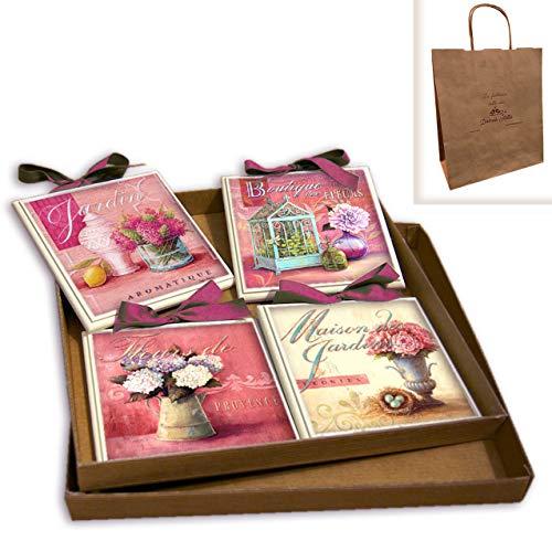 CREAZIONI ANTART Idea Regalo Set Quadretti Shabby Chic Country ARREDAMENTI Cucina 15x15 Art sr18 (17)
