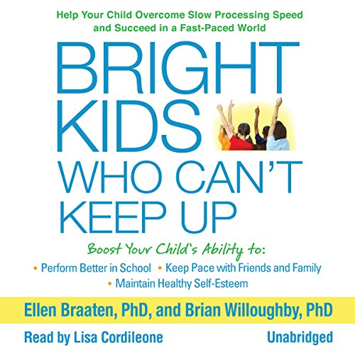 Bright Kids Who Can't Keep Up audiobook cover art