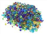 琉球ガラス カレット 虹のかけら 30g レジン 封入 材料 アクセサリーパーツ 琉球リサイクルガラスカレット 琉球ガラスのかけら 30g ミックス