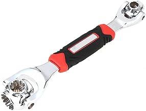 WYBW Tijgersleutel 48 in 1 Auto Reparatie Gereedschap Multifunctionele Socket Werkt met Spline Bouten Torx 360 Graden 6-pu...