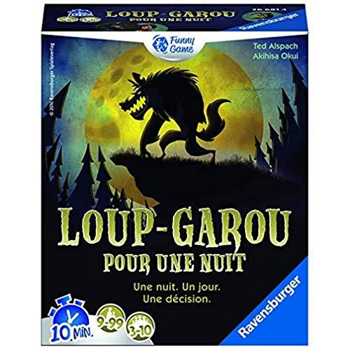 Ravensburger Werewolf for one night Juego de baraja de cartas (tematizado) -...
